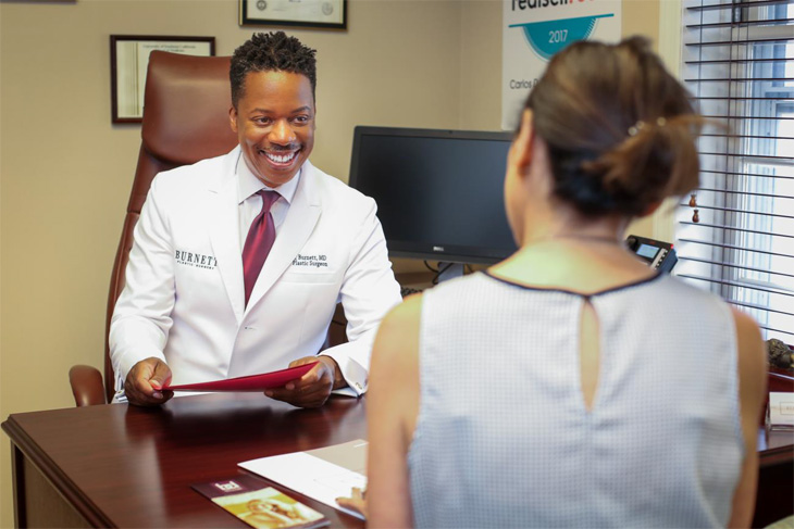 Dr. Carlos Burnett is there to listen to your concerns.
